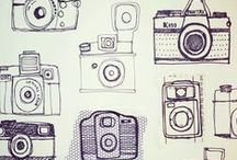 cameras, typewriters, stereos