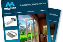 Mighton Bi-Fold Hardware / Bi-Fold Door Inspiration
