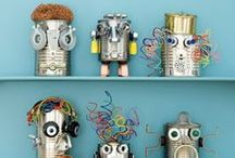 Creative Robot Crafts / Let's have fun creating lots of Robots!