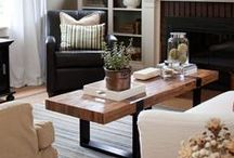 Tans and Browns / Home decor with tan and brown.