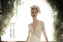Wedding dress and hair / bohemian, country style, romantic, forest