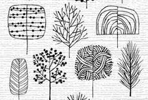 Zentangle, patterns and Doodle inspirations (tutorials)