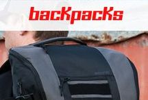 mavriK™ / The unique mavriK™ packs are built around their internal organizational capabilities that feature MOLLE webbing and touch fastener.