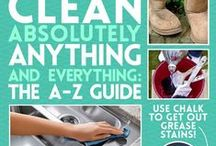 Cleaning / Cleaning Tips, Recipes and Tricks