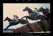 Cheltenham Festival images / Images and paintings of The Cheltenham Festival Horse Racing