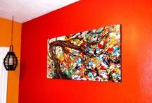 My Husband's Art Work! / Please visit Vouli's art blog and Etsy page. Thank you! =) http://artbyvouli.blogspot.com/ http://www.etsy.com/shop/ExpressionismByVouli