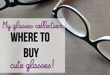 Fashion: Glasses / All the retro, rockabilly, vintage, and creepy cateye glasses I can find.