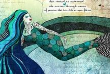 Mermaids / Check out my blog filled with inspirational pictures and my own personal quotes written from my heart and soul. =) Melanie http://positiveandinspirationalquotes.blogspot.com/