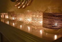 Arts & Crafts: Lights & Candles / diy/myo candles and displays ~ making and revamping lights for the home / by Maria V