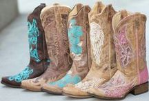 Cowgirl boots / So I had to make a new board just for CowGirl Boots! / by mossrose byfunkologie