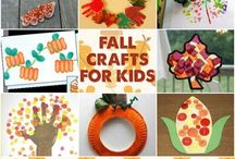 Autumn/Halloween crafts  / by Kirsten Kirby-Jewell