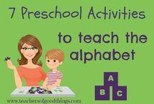 Preschool learning activities! / by Kirsten Kirby-Jewell