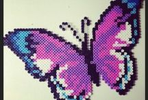 Beading:  Flutterbys / Butterflies, dragonflies, wings / by Stephie Mae