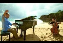 The Piano Guys / The most delicious music that speaks to your heart and soul.  Breathtaking.
