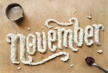 November / by marissa rodrigues