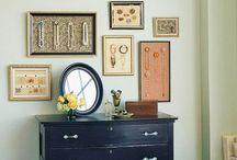 Family History - heirloom display ideas