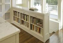 Kitchen Bookshelves