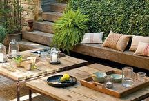 {outdoor spaces} / Outdoor living spaces