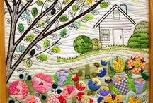 Quilts, Sewing and Applique - Oh My... / Although I have been sewing for years...I just started quilting, and I am learning just what an artform this really is... / by Carith Michelle Seigel Wiseman