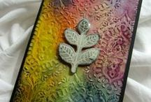 * PAPER ARTS..STAMPING, COLLAGE, STENCILING, INKING, FOLDING, & ... / paper ..endless creative juices abound..gotta love all the artists and their priceless sharing on Pinterest!   / by Kay Roberts