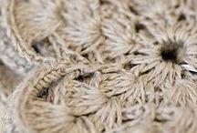 Krásné doplňky - home crochet and knitted decor