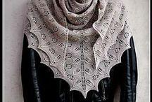 Šály, nákrčníky, šátky - scarves, neck warmers, shawls inspiration