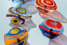 Glass as Art / Blown and cast glass / by Alan Paulson