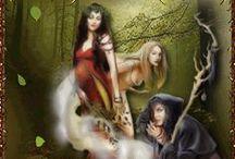 Magic, Pagan & Witches. / by Bianca Batenburg-Snellenburg
