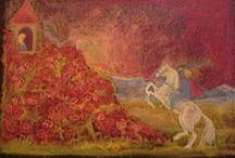 Klas 1- Groep 3 /  Vrije school / Waldorf / Steiner / Sprookjes (bij voorkeur de volkssprookjes van de gebroeders Grimm (D)): - repelsteeltje - roodkapje - sneeuwwit en rozenrood -   / by Bianca Batenburg-Snellenburg