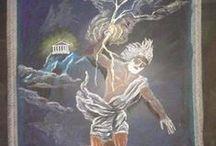 Klas 5 - Groep 7 / Vrije school / Waldorf / Steiner / Griekse mythen en heldensagen (India, Perzië, Babylonië en Egypte, Griekenland, verhalen over planten): -India -Perzië -Babylonië -Egypte -Griekenland -Planten verhalen -Olympic -Shiva -Boeddha -Demeter en Persepone -Troje -Houten ei maken -Olympische spelen - mossen en grassen - mesopotamia - odyssey - coniveren - varens - photosynthese - ,paddestoelen / fungi  / by Bianca Batenburg-Snellenburg