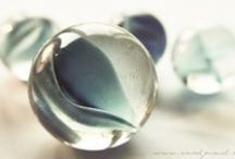 Marbles: magic of heated glass
