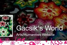 Gacsik's World / Csomózott karkötőt, kulcstartót, fülbevalókat, gyűrűt, nyakláncot és egyéb ékszereket készítek.   Knutna armband, nyckelringar, örhängen, ringar, halsband och andra smycken jag gör.  Knotted bracelets, key chains, earrings, rings, necklaces and other jewelry I make.  Facebook:  https://www.facebook.com/Gacsiks