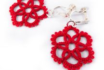 Crocheted jewerly - Horgolt ékszerek - Virkade smycken