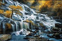 Rivers and waterfalls