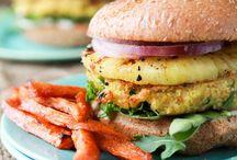 vegan burgers, patties, balls & loaves