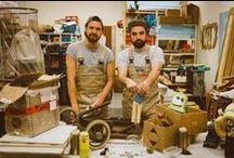Aus userem Portfolio / Wir sind Nicolas und Nils aus Hamburg, zusammen sind wir die Ghostbastlers, ein unschlagbohrbares Team aus Handwerk und Kreativität. Hobbymäßig haben wir eh schon immer gebastelt und weil uns das so anschockt, haben uns gedacht, wir teilen das mal mit Euch.