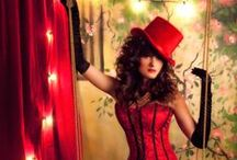 Moulin Rouge themed party ideas / Inspiration that takes our fancy for an upcoming event for The Prop Store
