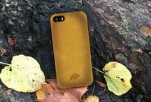 Apple iPhone 5/5S Leather Cases / Handmade Leather Cell Phone cases made for Apple iPhone 5/5S