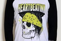 HeartbeatInk Apparel for Men / HeartbeatInk Apparel is an Athens based brand dedicated to the art of tattoo. It has been created by HeartbeatInk Team (heartbeatink.gr) as a result of our love, dedication, experiences and respect we have for tattoo. Our aim is to communicate our vision and aesthetics into unique and quality apparel. All our garments are high quality, some fabrics are organic, and all our prints are hand-made silkscreens printed in Athens, Greece. Please, handle with care and wash inside out. Thank you.