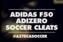 adidas F50 adizero Soccer Cleats / The fastes boot just got a brain! not only a brain, but now you can save up to 75% on select adidas F50 adiZero. Choose between Synthetic F50 adizero or Leather adidas F50 adizero. The adizero is essential for players who want to quicken their footwork and accelerate with the ball. Full-grain leather for excellent comfort and in-boot feel. With miCoach compatible, you can now Choose training plans or create your own. Track your workout progress, get coaching feedback, and see improvements.
