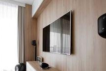 interiors :: tv wall