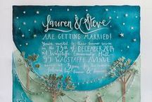 Wedding Invitations & Paper Goods / by Artfully Wed - Wedding Blog