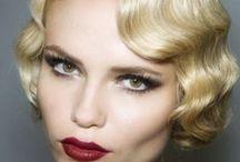 Vintage bridle ideas / #vintage#wedding#hair#makeup