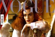 Vogue  / Fashion#icons#hair#makeup