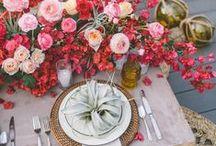 Wedding Centerpieces & Tablescapes