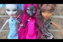 Monster High sewing patterns, crafts, party ideas / ... and also Barbie