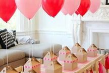 Party ideas / Inspiration for parties.  Ideas for photos, gifts, wrapping... everything to do with parties.
