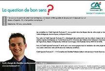 Question de bon sens  / Crédit Agricole Toulouse 31 : 115 conseillers professionnels et 31 conseillers patrimoniaux à votre service en Haute-Garonne. Retrouvez les réponses à vos questions sur http://bit.ly/1imhotR