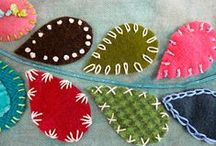 Embroidery / Embroidery, embellishment with fanciful details, is my favourite craft to explore on Pinterest.