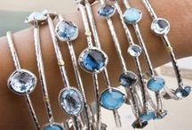 Something Blue / Blue jewelry that makes us anything but blue!